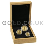 Three Coin Britannia Set Gift Boxed (2020)
