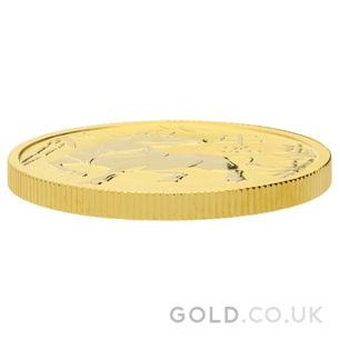 Half Ounce Gold Perth Mint Year of the Ox (2021)