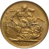 1910 Edward VII Gold Sovereign (Sydney Mint)