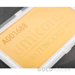 10g Umicore Gold Bar