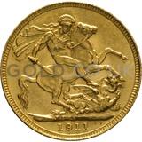 1911 George V Gold Sovereign (Sydney Mint)