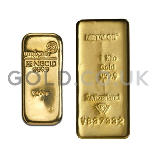 1 Kilo Gold Bar (Best Value)