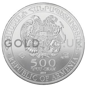 Silver Noah's Ark 1oz Coin (2019)