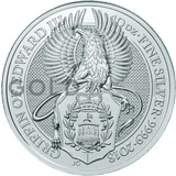 10oz Silver Coin - The Griffin (2018)