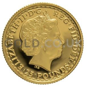 2007 Quarter Ounce Proof Britannia