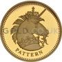 One Pound Gold Coin - Unicorn of Scotland Pattern (2004)