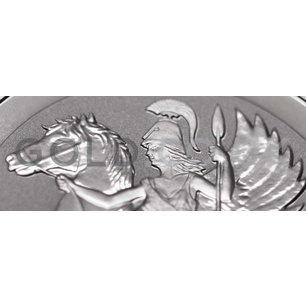 1oz Pegasus Reverse Proof Silver Coin (2017)