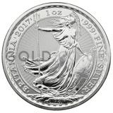1oz Silver Britannia Privy Rooster (2017)
