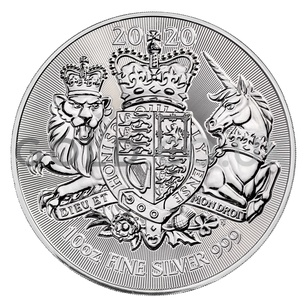 Silver Royal Arms 10oz (2020)