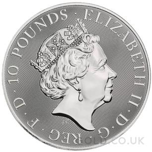 10oz Silver Coin - The White Horse of Hanover (2021)