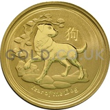Gold Perth Mint Year of the Dog 1oz (2018)