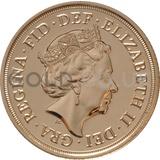 Elizabeth II, Fifth Head - Gold Sovereign