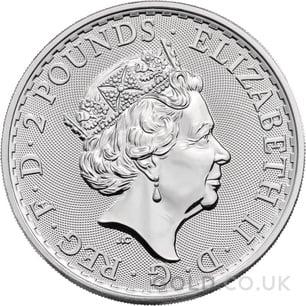 Britannia One Ounce Silver Coin (2021)
