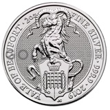 The Yale Of Beaufort - 2oz Silver Coin (2019)