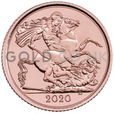 Gold Half Sovereign (2020)