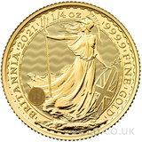 Quarter Ounce Gold Britannia Coin (2021)