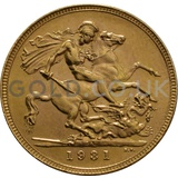 1931 George V Gold Sovereign (South Africa Mint)