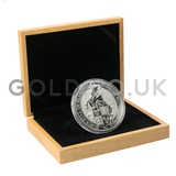 10oz Silver Coin - The Black Bull of Clarence (2019) Gift Boxed