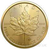 1oz Canadian Maple Gold Coin (2021)