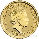 Tenth Ounce Gold Britannia Coin (2021) - Gift Boxed