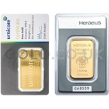 1oz Gold Bar (Best Value)