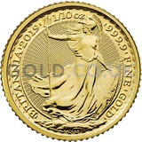 Tenth Ounce Gold Britannia (2019)
