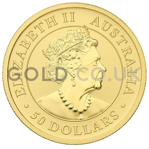 Gold Nugget Half Ounce (2020)
