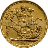 1906 Edward VII Gold Sovereign (Sydney Mint)
