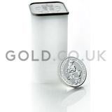 10 x 2oz Black Bull of Clarence Silver Coin