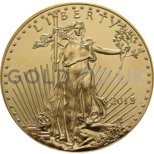 2015 1 oz Gold America Eagle