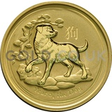 Gold Perth Mint Year of the Dog 2oz (2018)