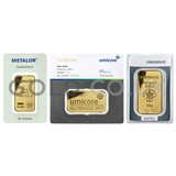 50g Gold Bar (Best Value)