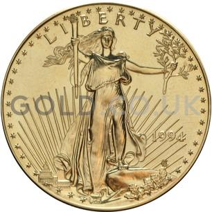 1994 1 oz Gold America Eagle