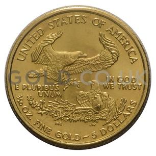 2000 1/10 oz Gold America Eagle