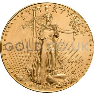 1999 1 oz Gold America Eagle