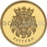 One Pound Gold Coin - Lion of England Pattern (2004)