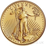Type 2 Tenth Ounce American Eagle Gold Coin (2021)