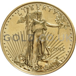 2012 1/4 oz Gold America Eagle