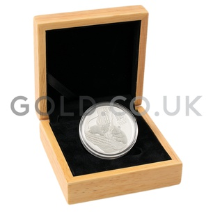 Silver Perth Mint Year of the Mouse 1oz Gift Boxed (2020)