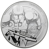 1oz Star Wars™ Clone Trooper Silver Coin (2019)