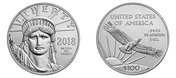 US Mint reports 50% increase in Platinum American Eagle coin sales