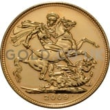 2009 Elizabeth II Fourth Head Gold Sovereign