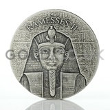 Ramesses II 2-Ounce Silver Coin (2017)