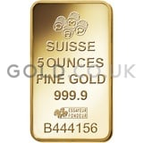5oz Gold Bars