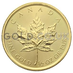 Half Ounce Gold Maple (2020)