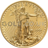 2008 1/4 oz Gold America Eagle