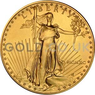 1990 1 oz Gold America Eagle