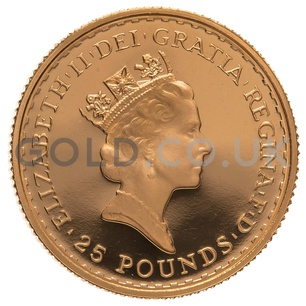 1989 Quarter Ounce Proof Britannia