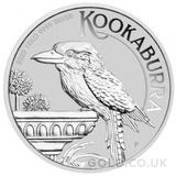 Silver Kookaburra 1kg (2022)