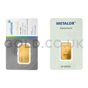 10g Gold Bar (Best Value)